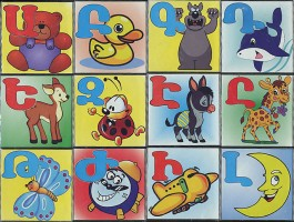 Armenian Alphabet Blocks
