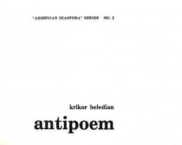 antipoem