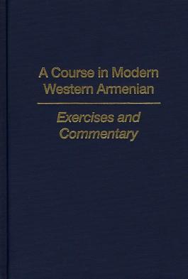 Course in Modern Western Armenian, A