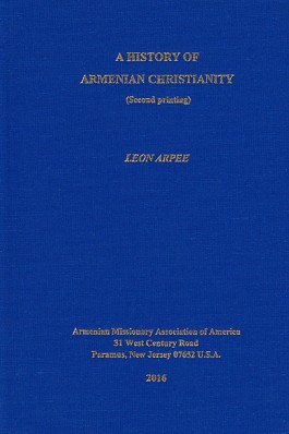 History of Armenian Christianity, A