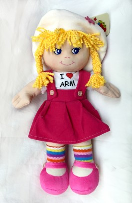 Armenian Talking Girl Doll