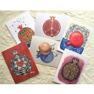 Pomegranate Series - Set of 6