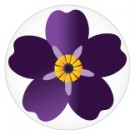 Forget-Me-Not Genocide Centennial Button Pin