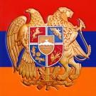 Armenia Flag and Emblem Sticker