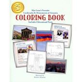 Hye Lezu's Favorite Landmarks & Monuments of Armenia Coloring Book