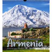 Churches and Monasteries of Armenia 2019 Calendar