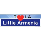 Little Armenia Bumper Sticker