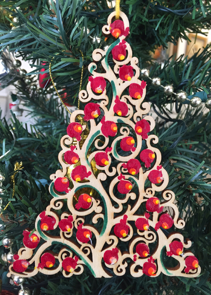 armenian pomegranate christmas tree ornament - When Is Armenian Christmas