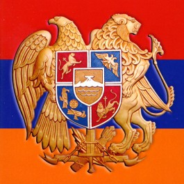 Armenia Flag and Emblem Sticker