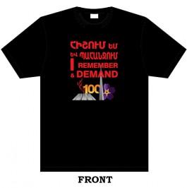 Forget-Me-Not Genocide Centennial T-Shirt