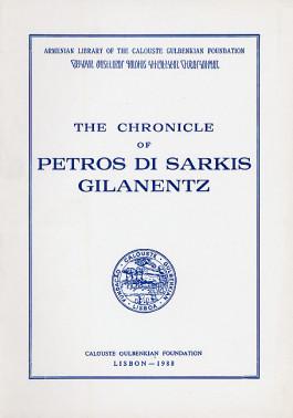 Chronicle of Petros di Sarkis Gilanentz