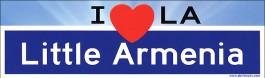 Little Armenia Bumper Sticker