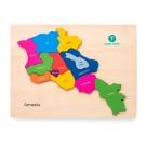 Armenia Map Puzzle