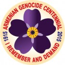 Forget-me-not Centennial Sticker