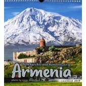 Churches and Monasteries of Armenia 2019 Calendar
